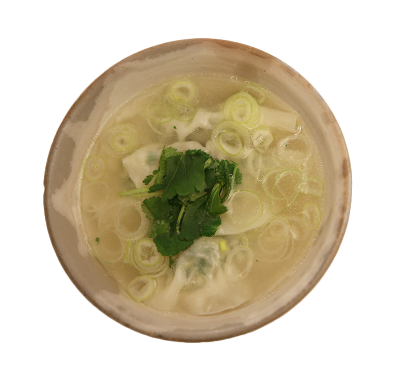 水ぎょうざ SUI-GYOUZA boiled dumpling in soup